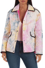 Reversible Quilted Tie-Dye Jacket