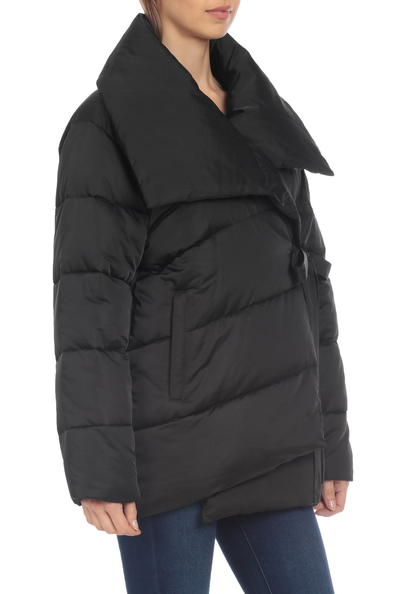 Oversized Wrap Puffer
