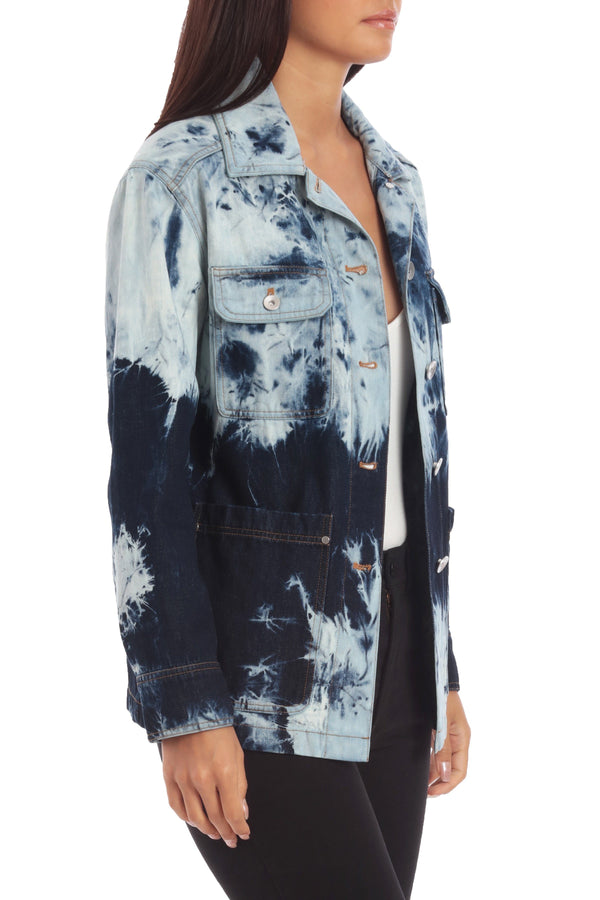 Cotton Tie Dye Jacket