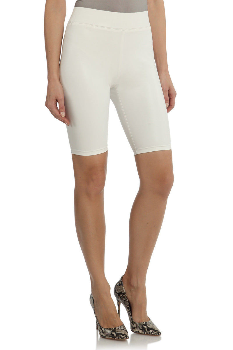Vegan Leather Bike Shorts Bottoms Avec Les Filles