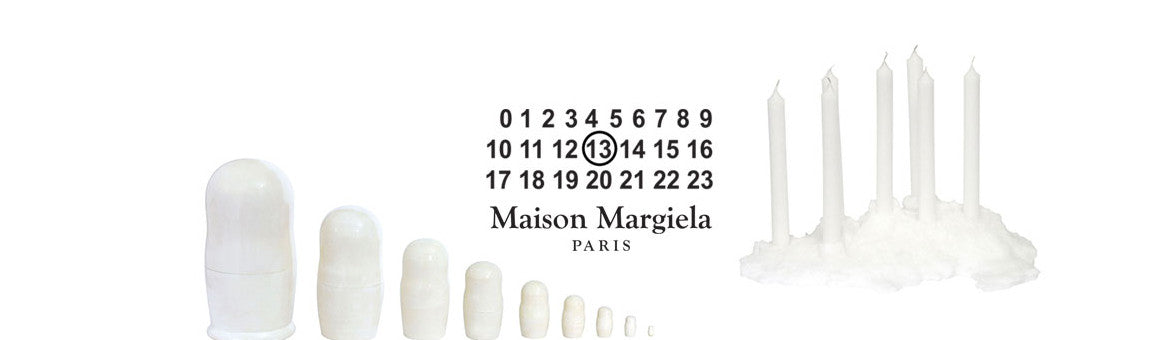 MAISON MARGIELA LINE 13 OBJECTS & PUBLICATIONS