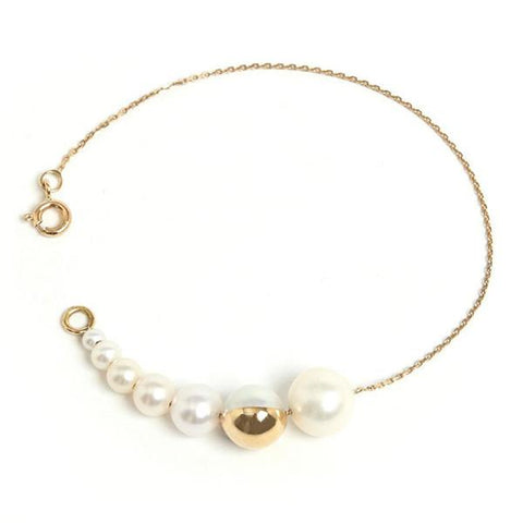 M/G TASAKI Evolution Shell Bracelet