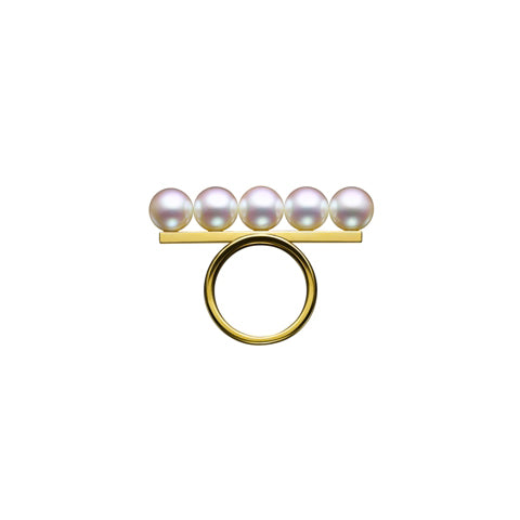 TASAKI balance signature Ring