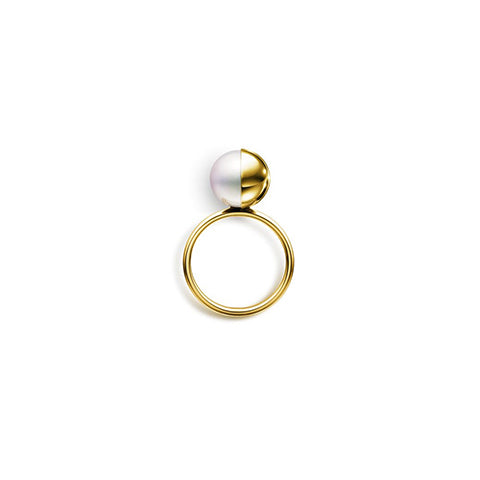 M/G TASAKI Mystic Arlequin Yellow Gold Ring