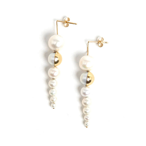 M/G TASAKI Shell Earrings