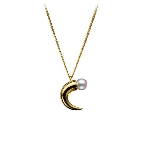 TASAKI refined rebellion horn Pendant