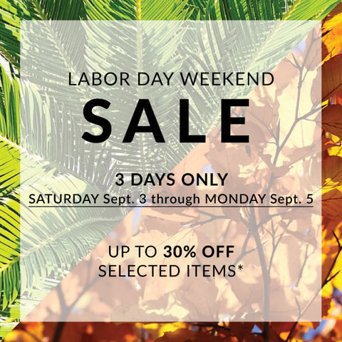 Labor Day Weekend SALE Header