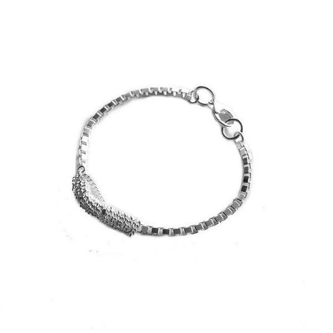 ADELINE CACHEUX Wild Charms Sterling Silver Single Bracelet