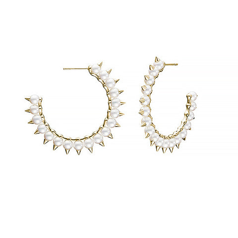 "TASAKI ""danger tribe large"" Earrings"