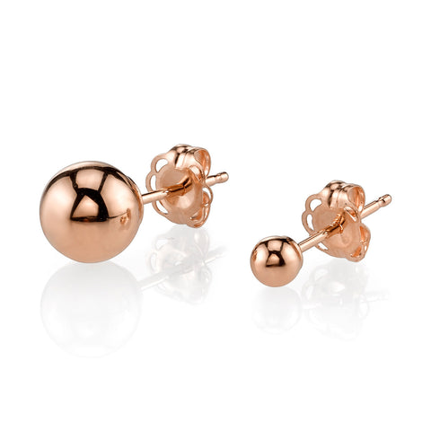 GABRIELA ARTIGAS Orbit Rose Gold Earrings