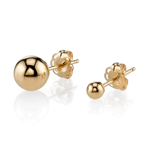 GABRIELA ARTIGAS Orbit Gold Earrings
