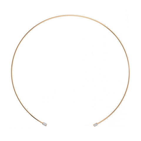 GINETTE NY Single Diamond Choker