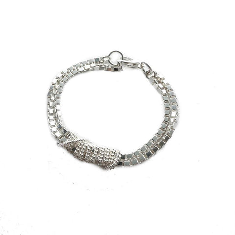 Adeline Cacheux Wild Charms Sterling Silver Bracelet
