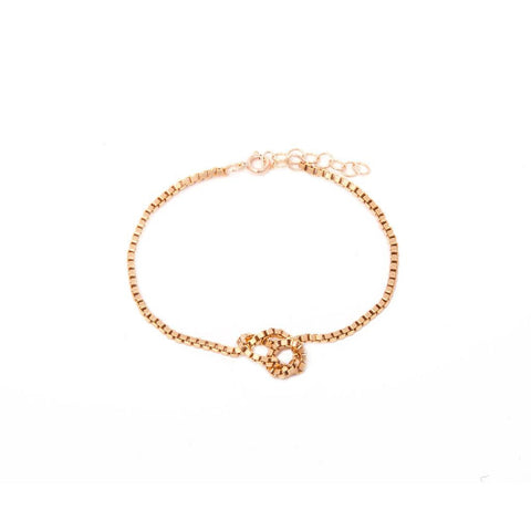 BY BOE Knotted bracelet gold