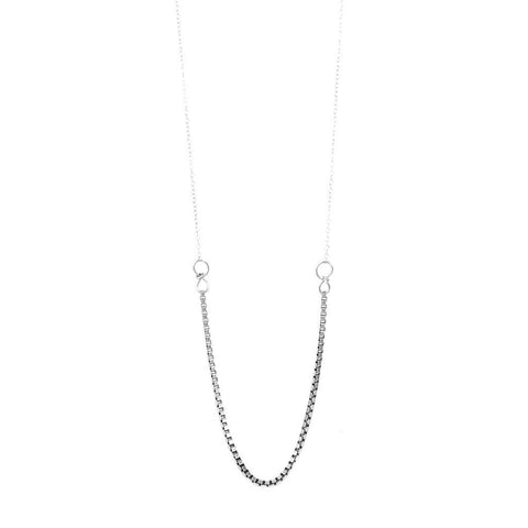 BY BOE Icon necklace silver