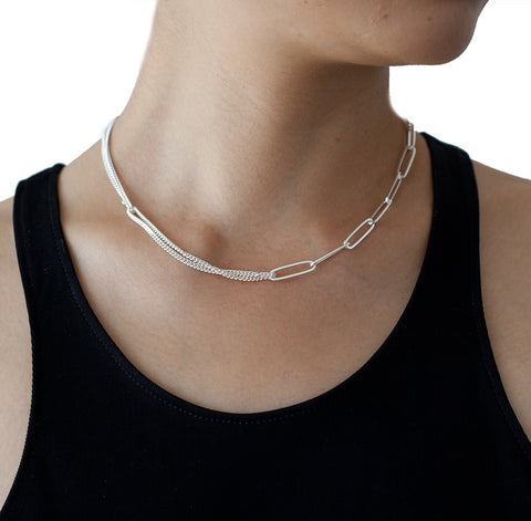 ADELINE CACHEUX Classics Sterling silver necklace