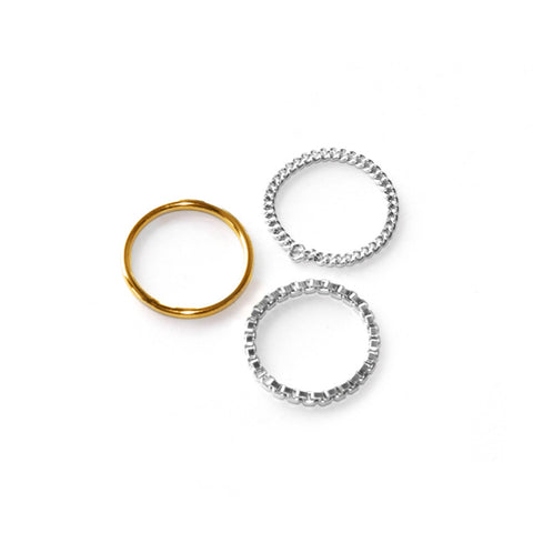 Adeline Cacheux More Than This Set of Rings