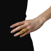 Eddie Borgo Hinged Plate ring- Gold