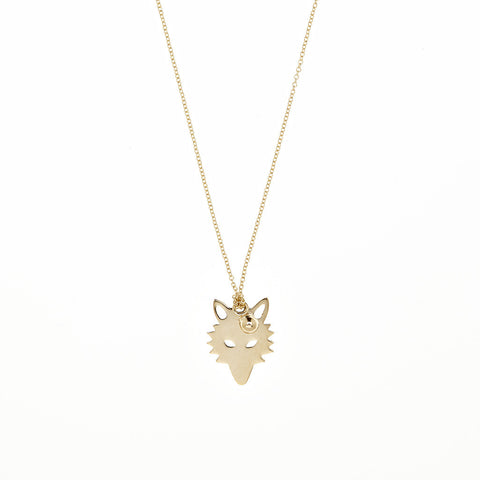 GINETTE NY Little Wolf Necklace