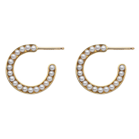MELANIE GEORGACOPOULOS Essence Earring Hoops