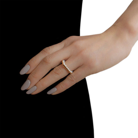 MELANIE GEORGACOPOULOS Essence Drop Ring