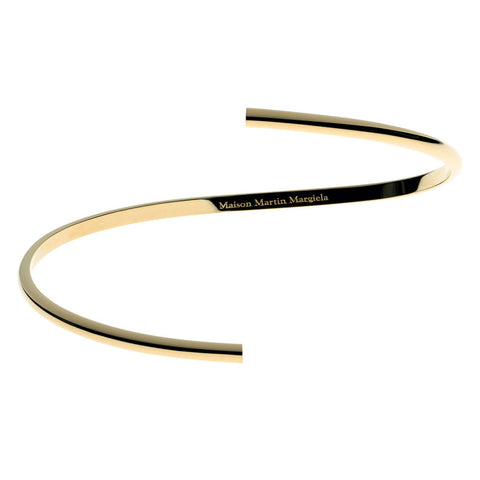 Maison Martin Margiela Line 12 Alliance Yellow Gold Split Bracelet