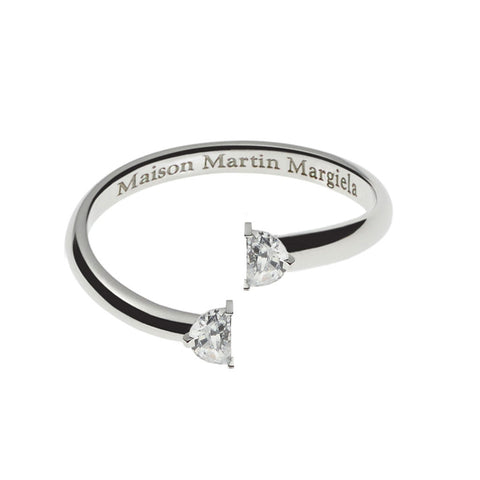 Maison Margiela Fine Jewelry Solitaire Bisected Ring