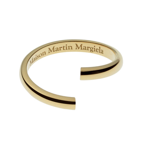 Maison Martin Margiela Line 12 Alliance Yellow Gold Split Ring