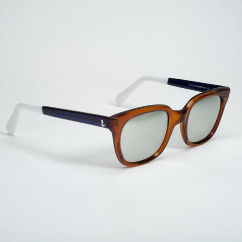 Sheriff & Cherry Mirrored lenses Orange / Navy