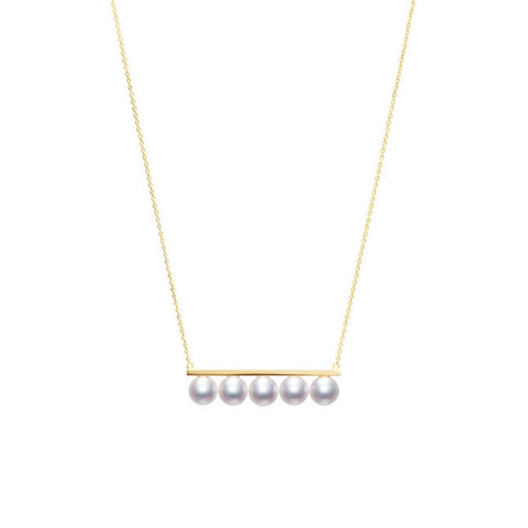 "TASAKI ""balance signature"" Necklace"