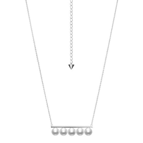 TASAKI Balance Signature White Gold Necklace