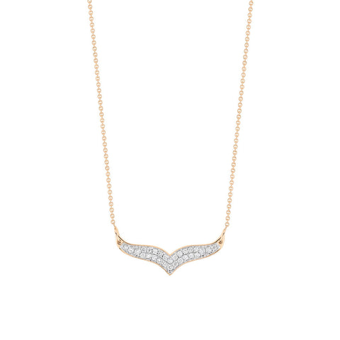 GINETTE NY Mini Diamond Wise Necklace