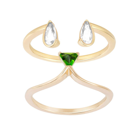 RUIFIER Animaux Flopsy and Whiskers Rings