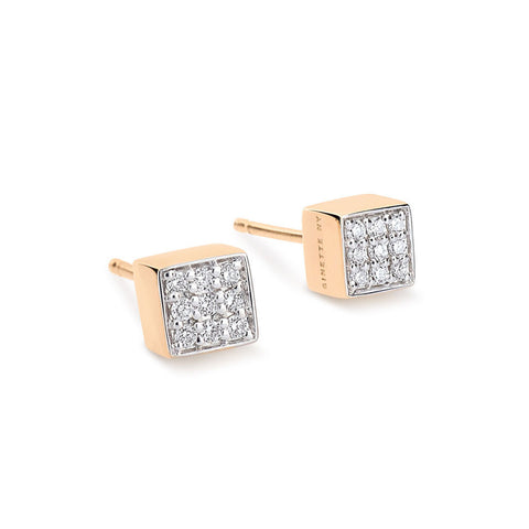 GINETTE NY Mini Diamond Ever Studs