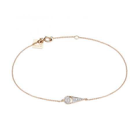 GINETTE NY Mrs. Joe Tiny Diamond Bracelet