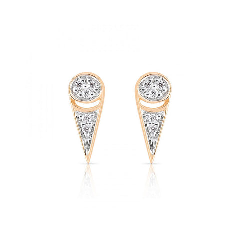 GINETTE NY Mrs. Joe Tiny Diamond Studs