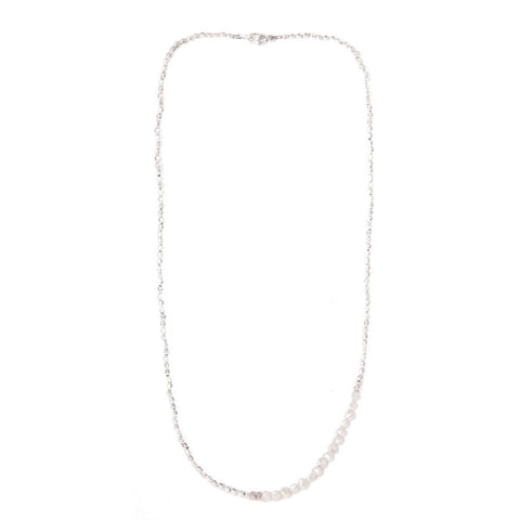 CATHERINE WEITZMAN Pearl necklace silver
