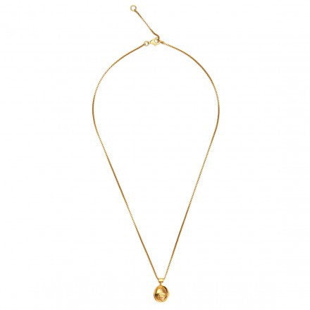 LARA BOHINC Gold Quartz Planetaria Necklace