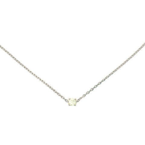 AS29 LA Collection Classic Choker Silver
