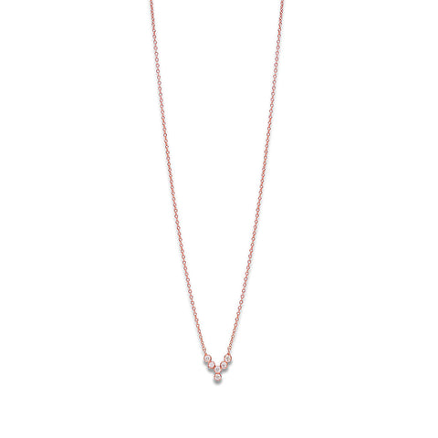 YANNIS SERGAKIS ADORNMENTS Charnières Rose Gold Pendant Necklace