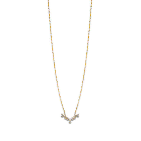 YANNIS SERGAKIS ADORNMENTS Charnières Yellow Gold Pendant Necklace