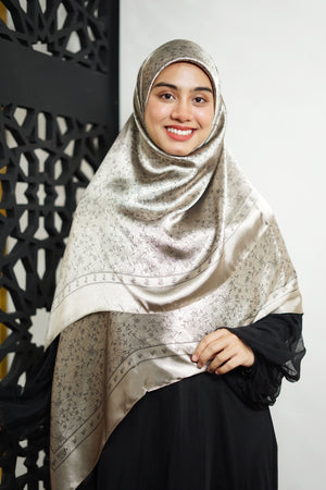 Hagia Hijab - Light Brown