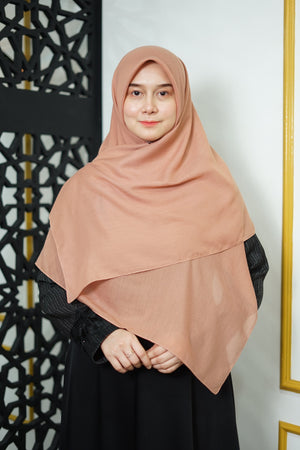 Zahra Cotton (GRED A) - Cinnamon Brown