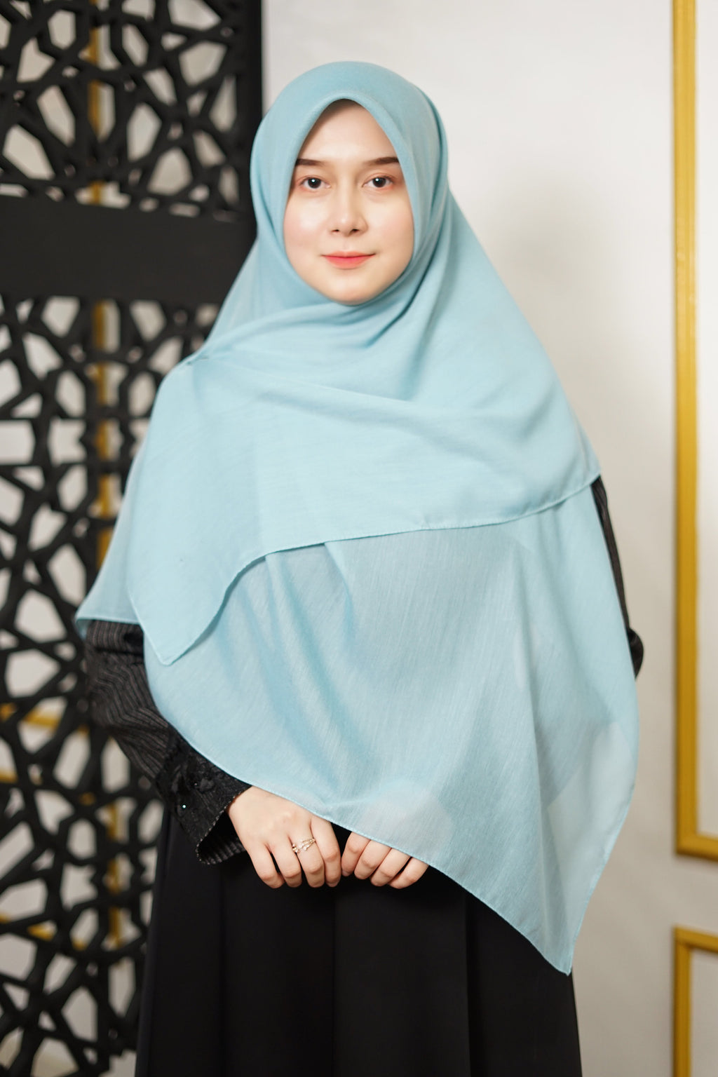 Zahra Cotton (GRED A) - Turkish Blue