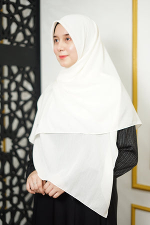 Zahra Cotton (GRED A) - White