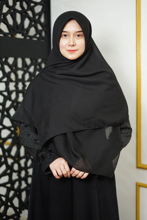 Zahra Cotton (GRED A) - Black