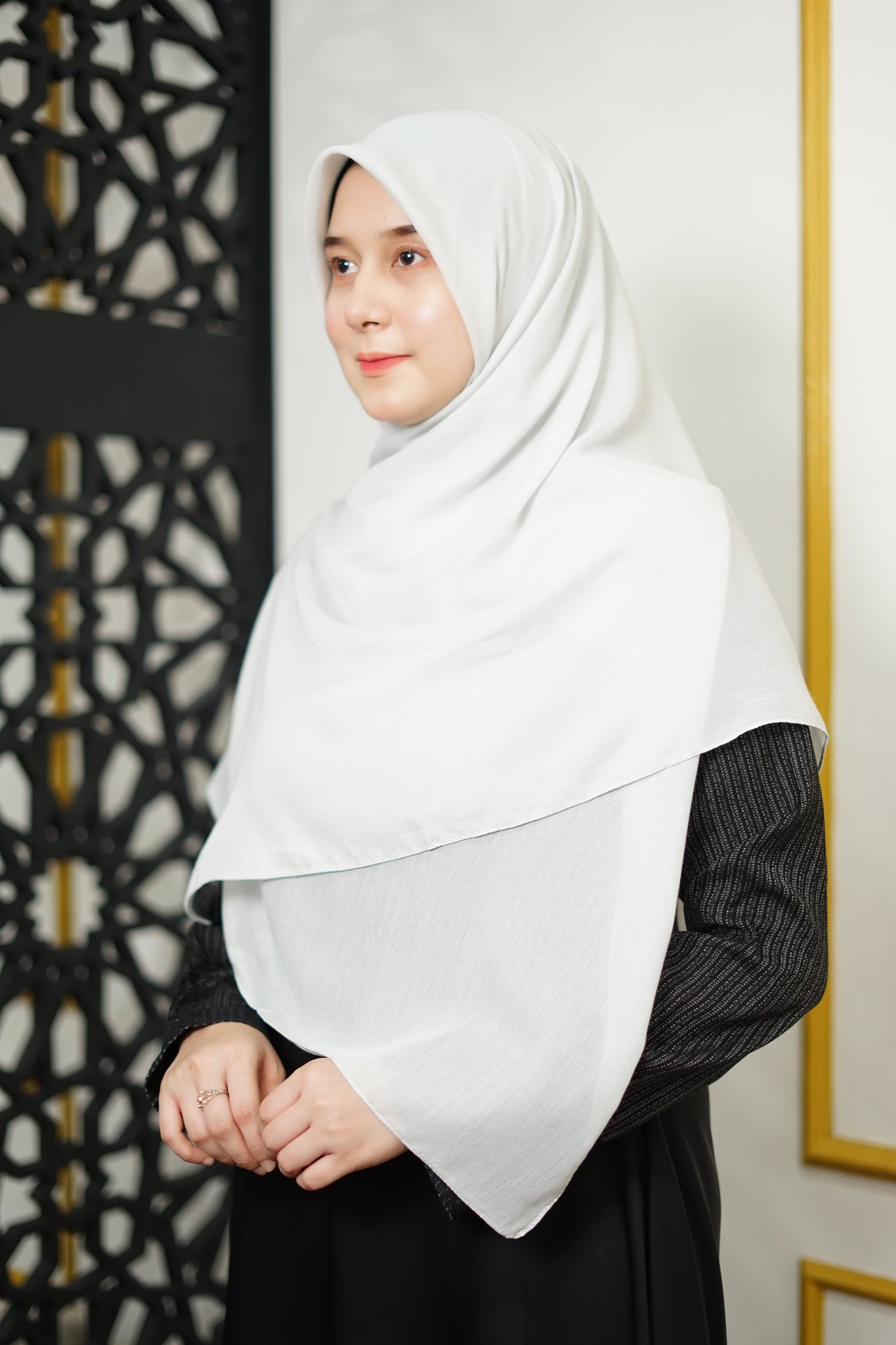 Zahra Cotton (GRED A) - Light Grey