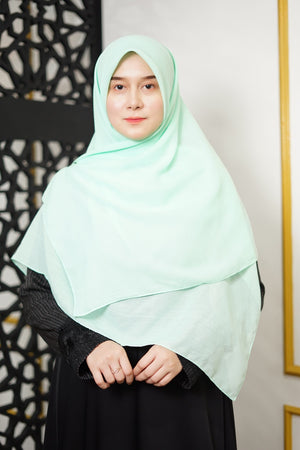 Zahra Cotton (GRED A) - Mint Green