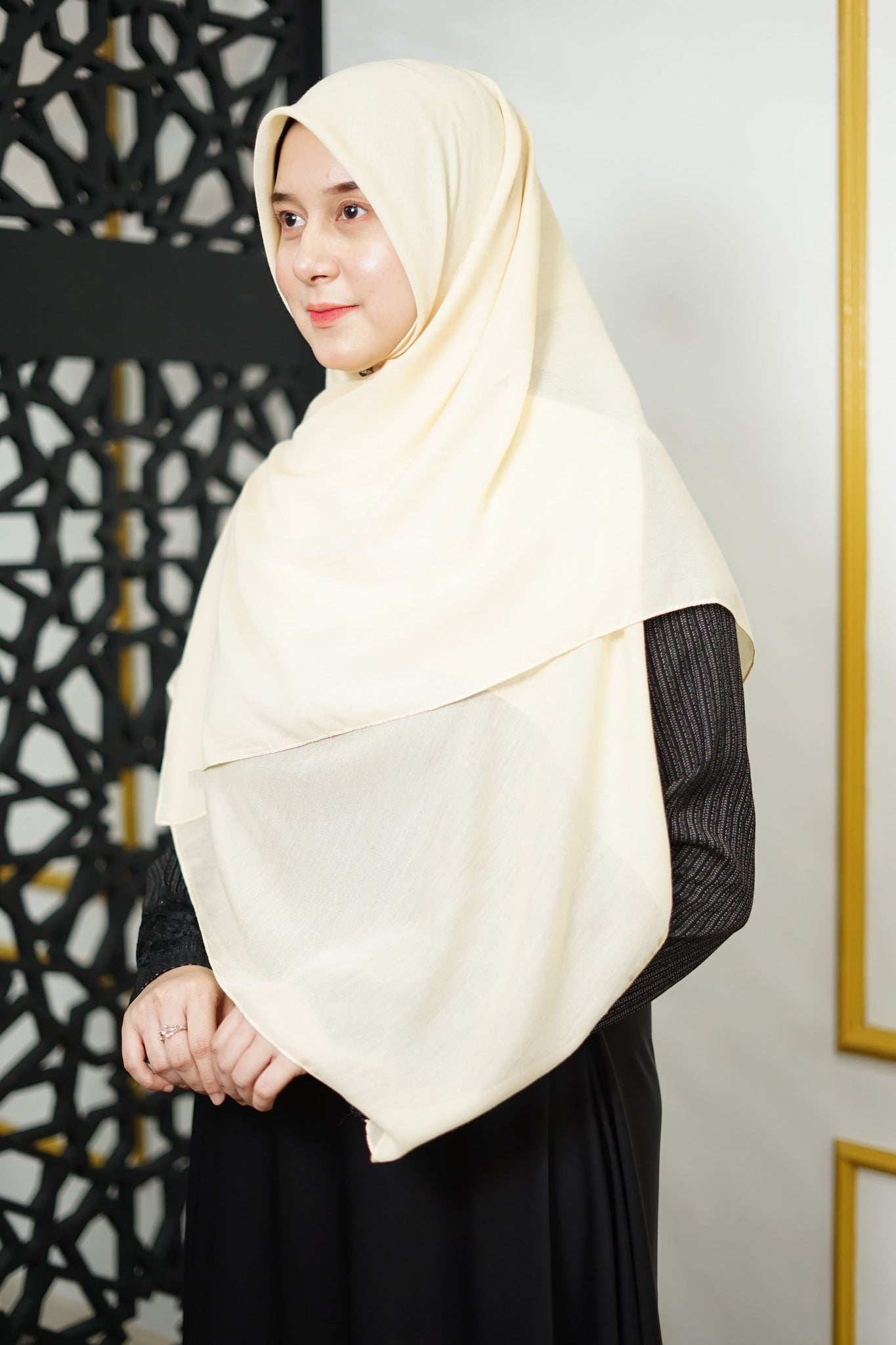 Zahra Cotton (GRED A) - Cream