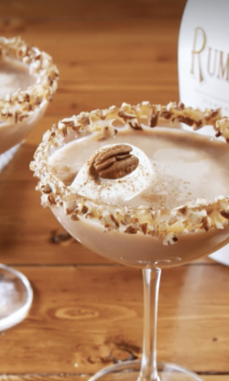 RECIPE: Pecan Pie Martini